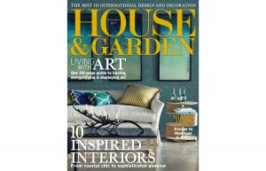 cover of house and gardens november 2014