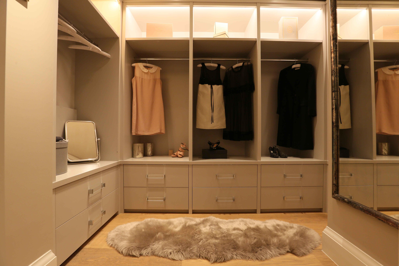 walk in wardrobe lighting
