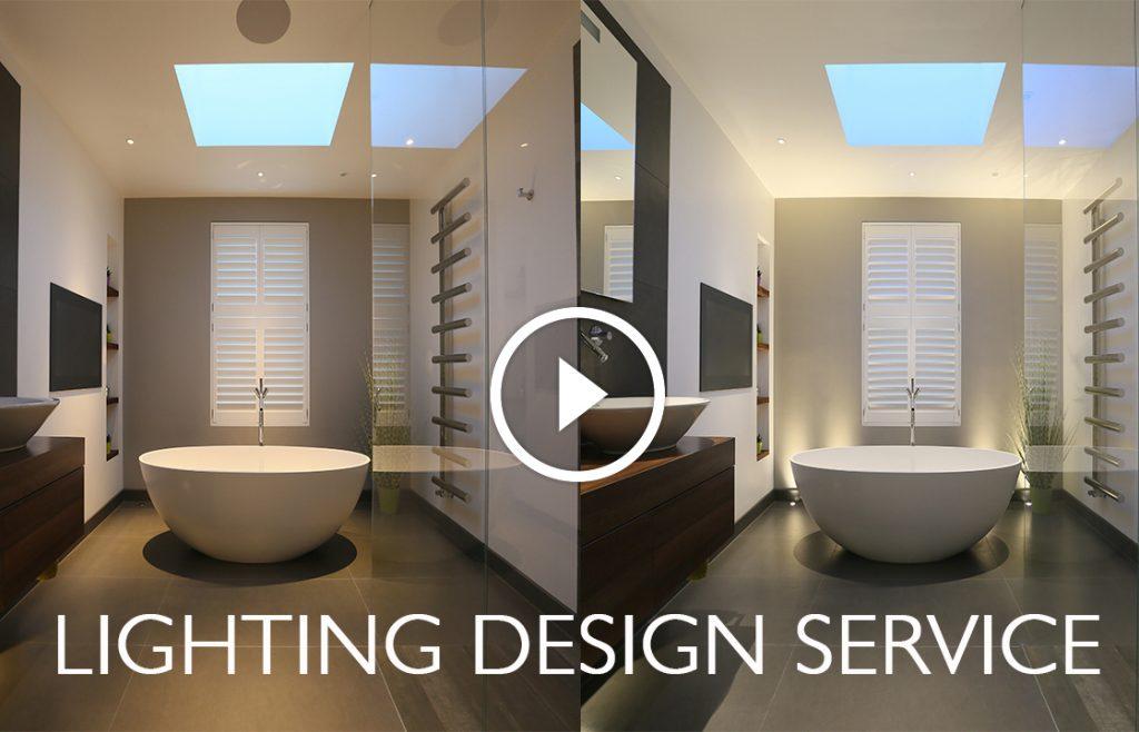 Lighting design service video images