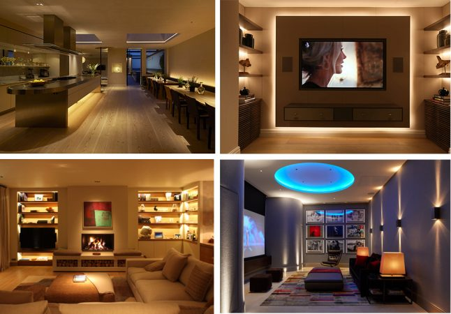 Application examples of led strip lights
