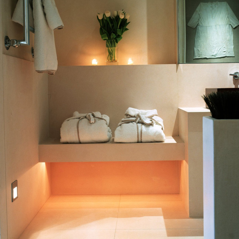 Lighting Basement Washroom Stairs: Inspiration With The Sirolo Floor Washer Light