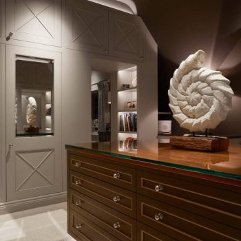layered lighting with great joinery