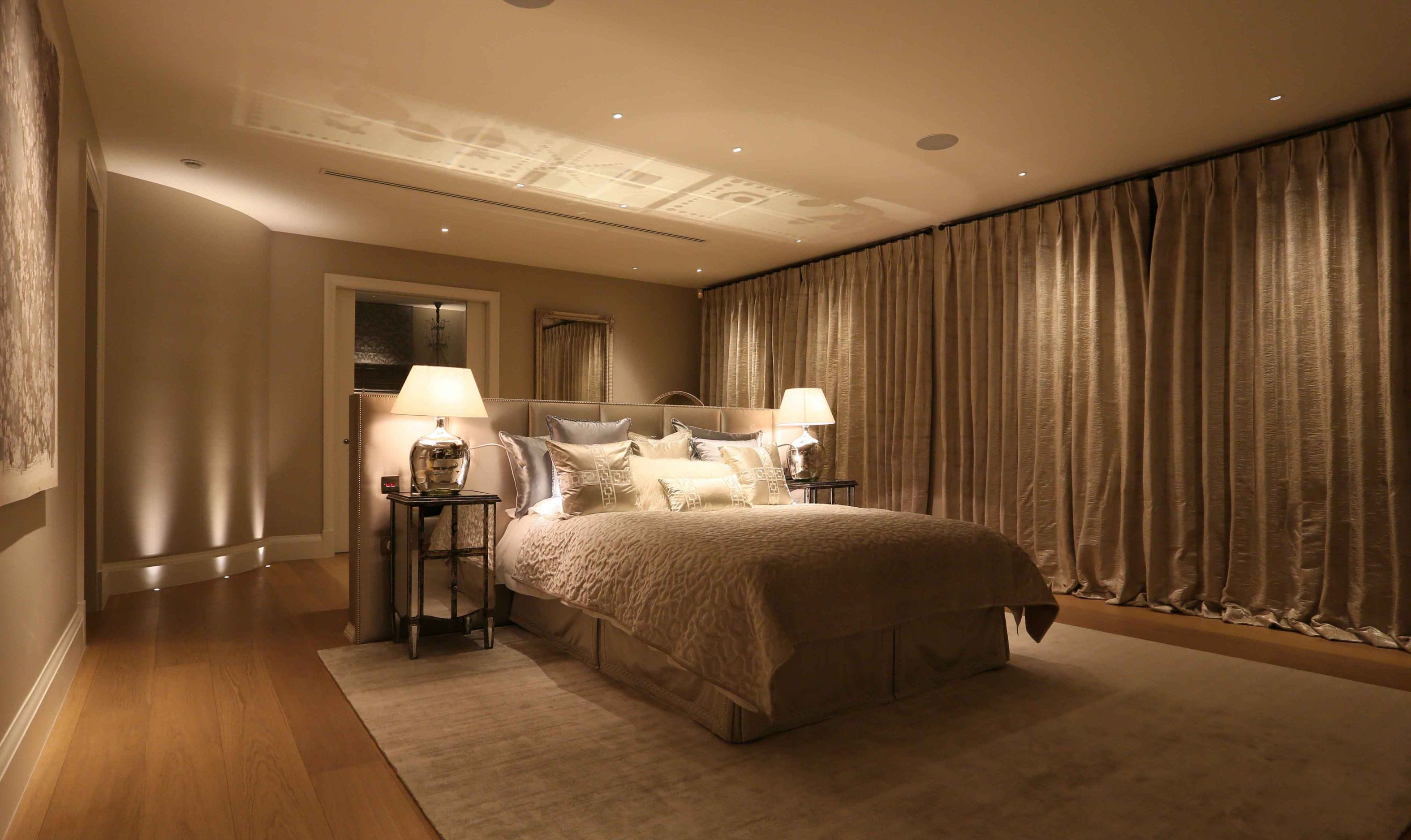 master bedroom lighting design