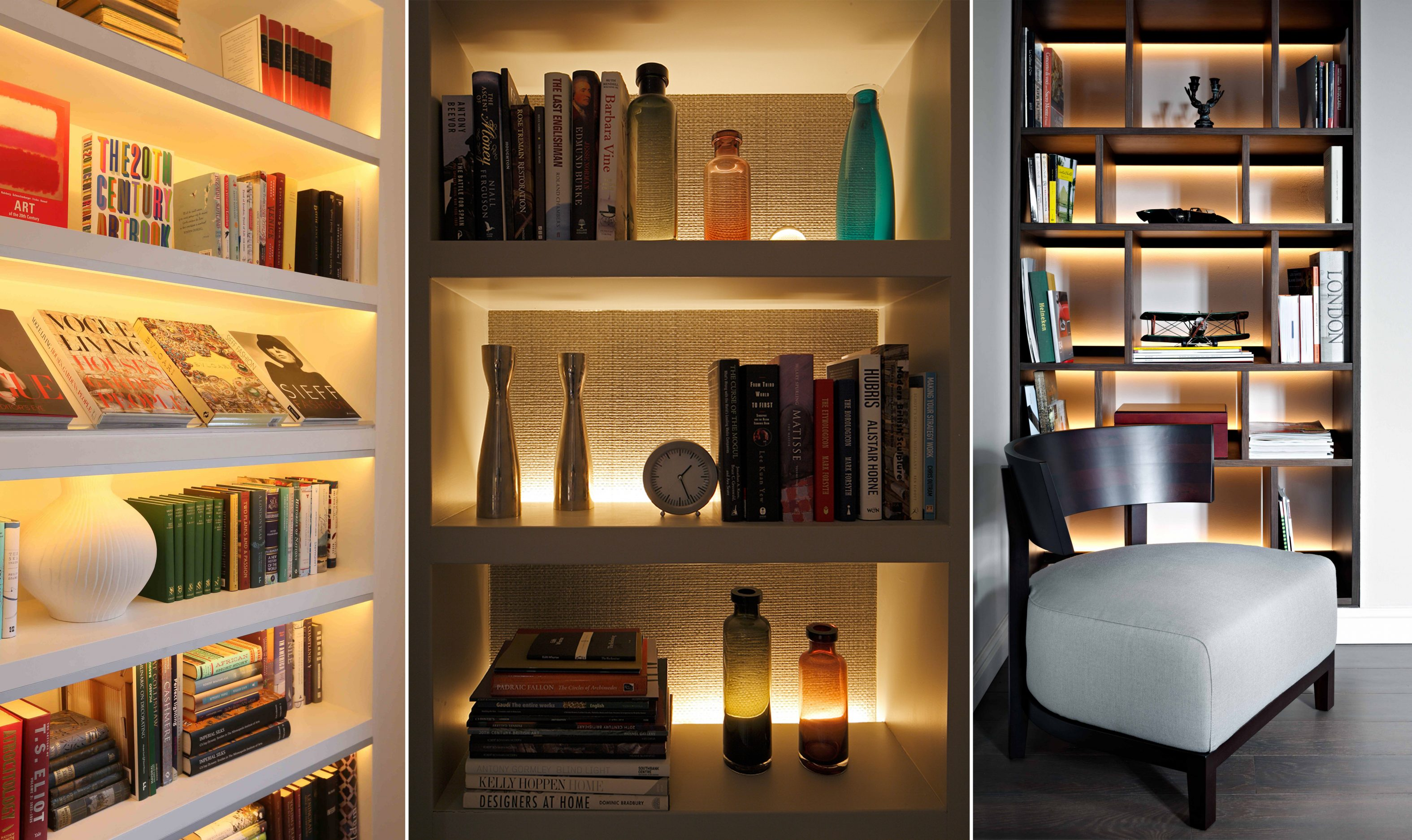 Shelf Lighting Ideas John Cullen Architectural