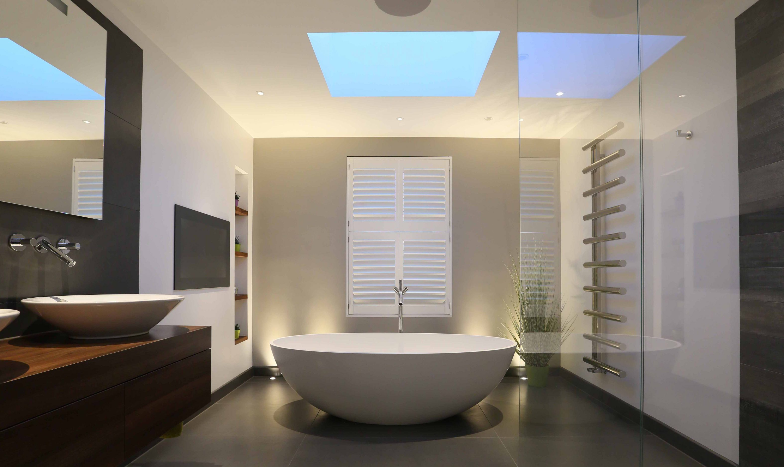 Contemporary Bathroom Lighting And Design John Cullen