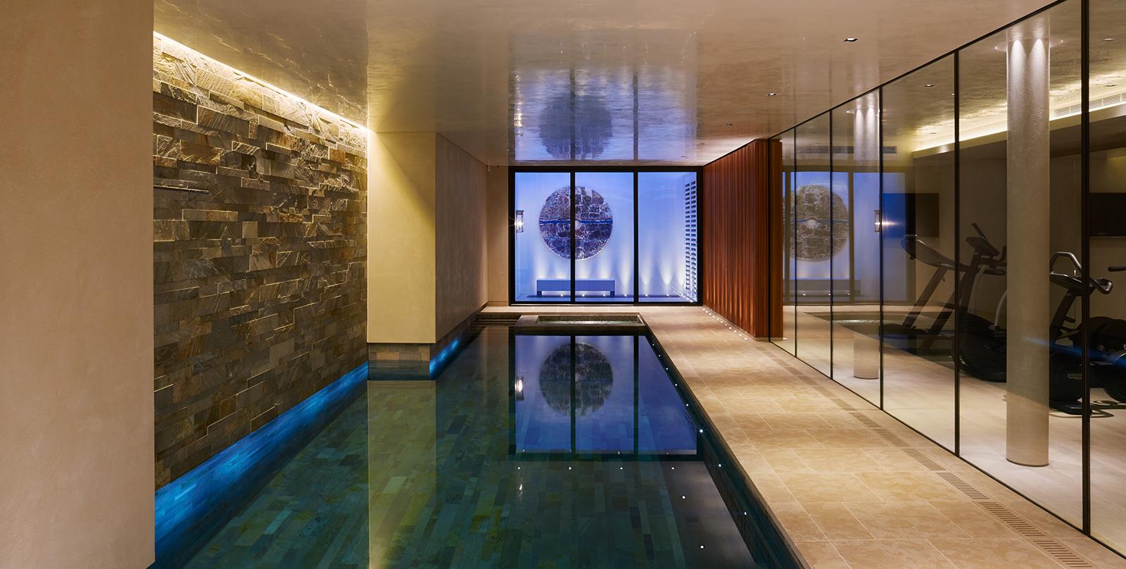 basement swimming pool