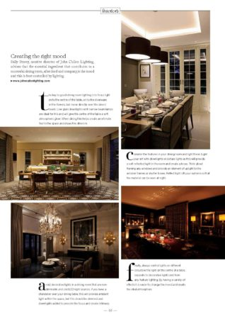 International Property and Travel Magazine John Cullen Lighting Article p2