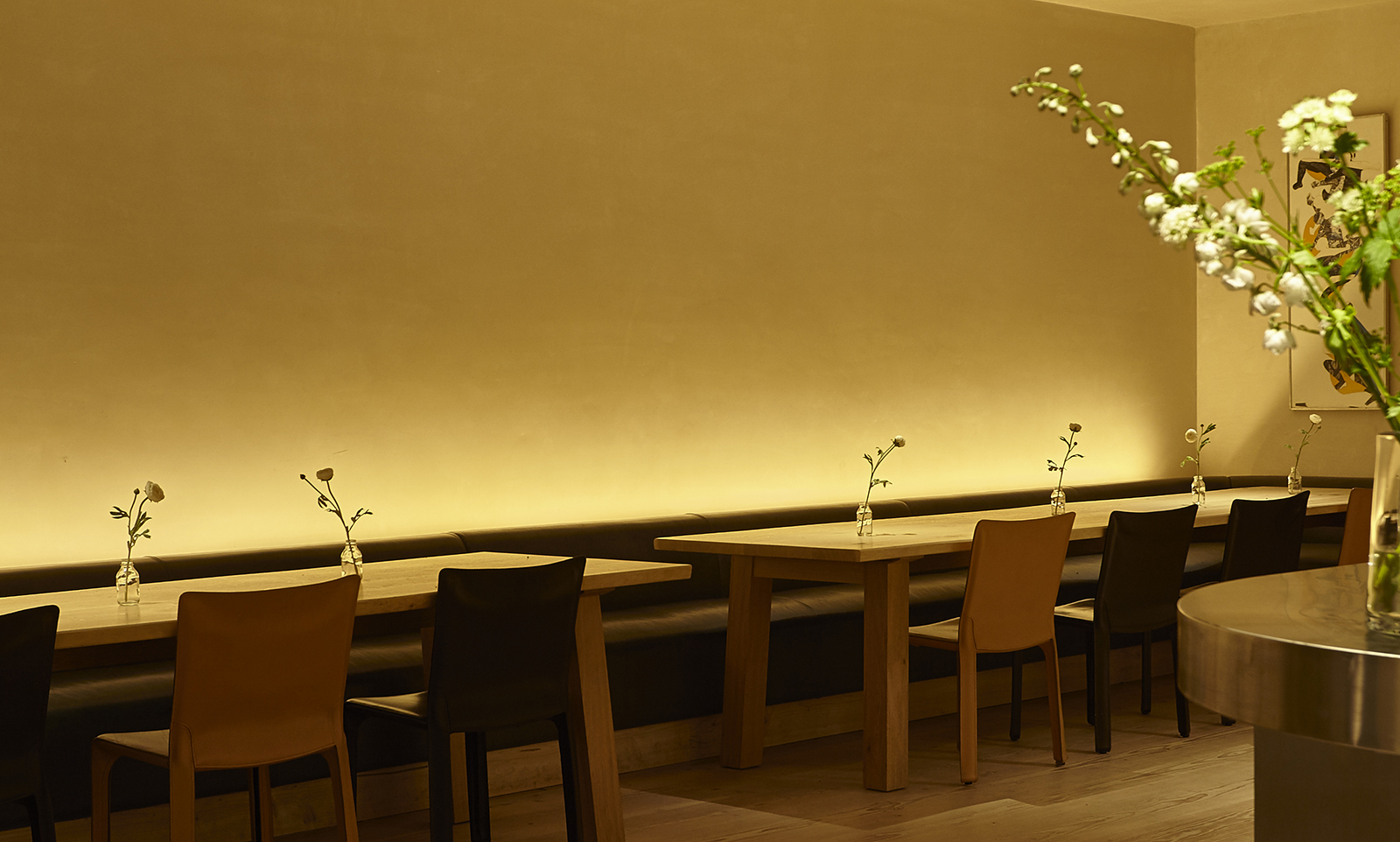 minimalist lighting dining