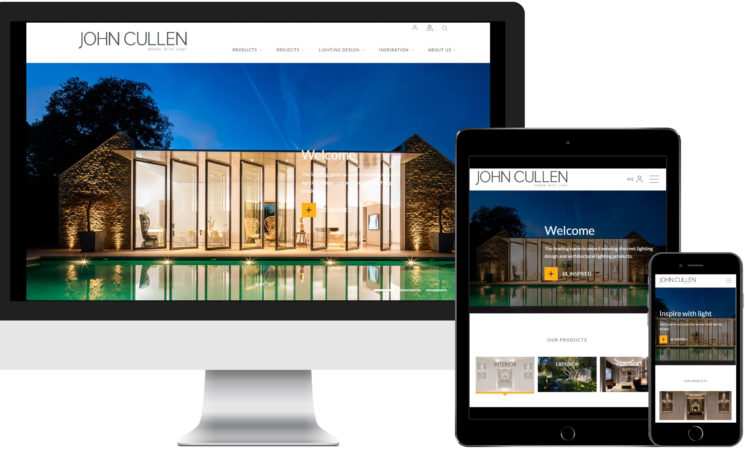 John Cullen Lighting New Website