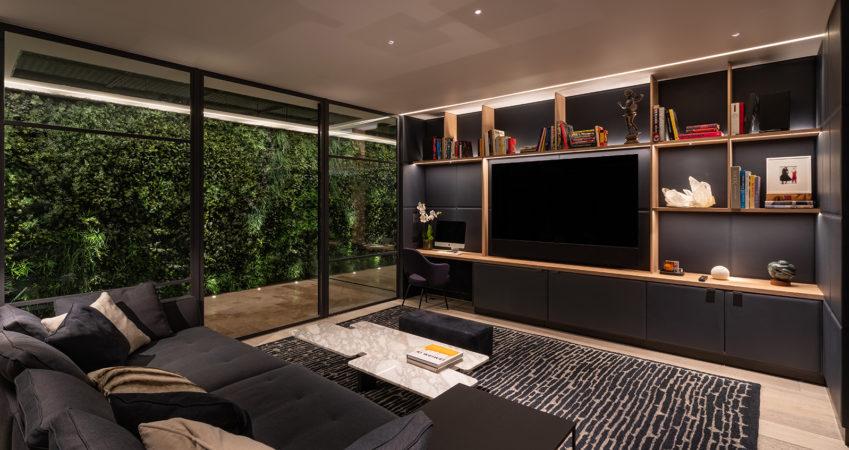 Comfortable TV Room