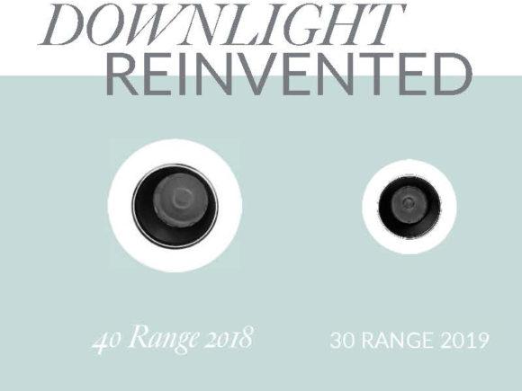 miniature downlight comparison size