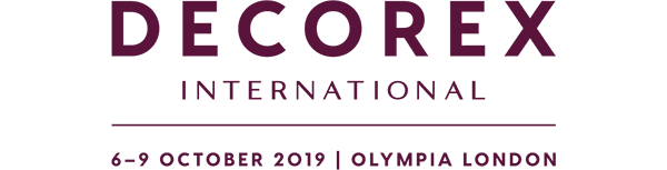 Decorex logo 2019 with blind fashions