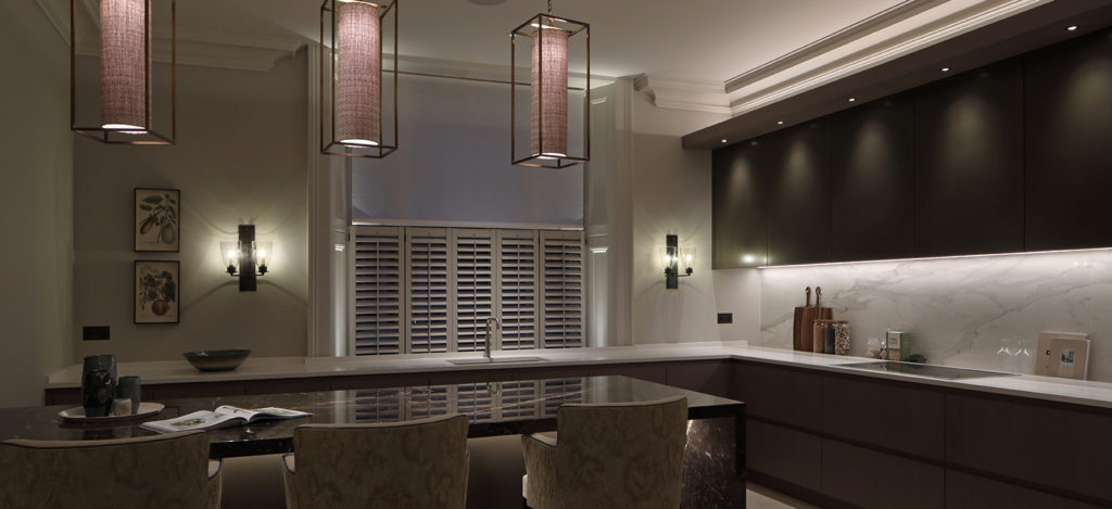listed building kitchen lighting