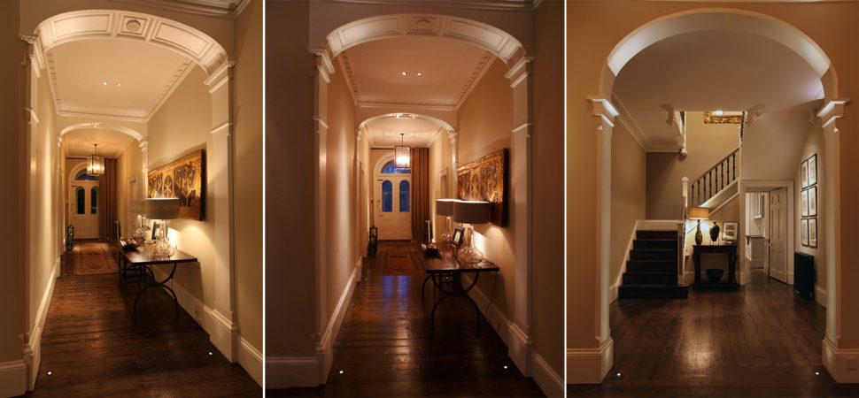 country house hall lighting