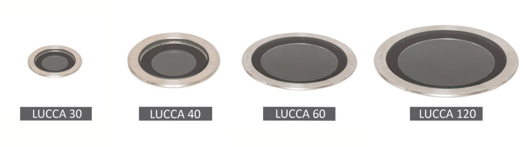 New range of Lucca uplights