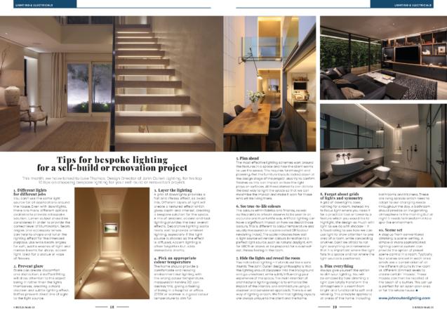I Build Magazine article with Luke Thomas