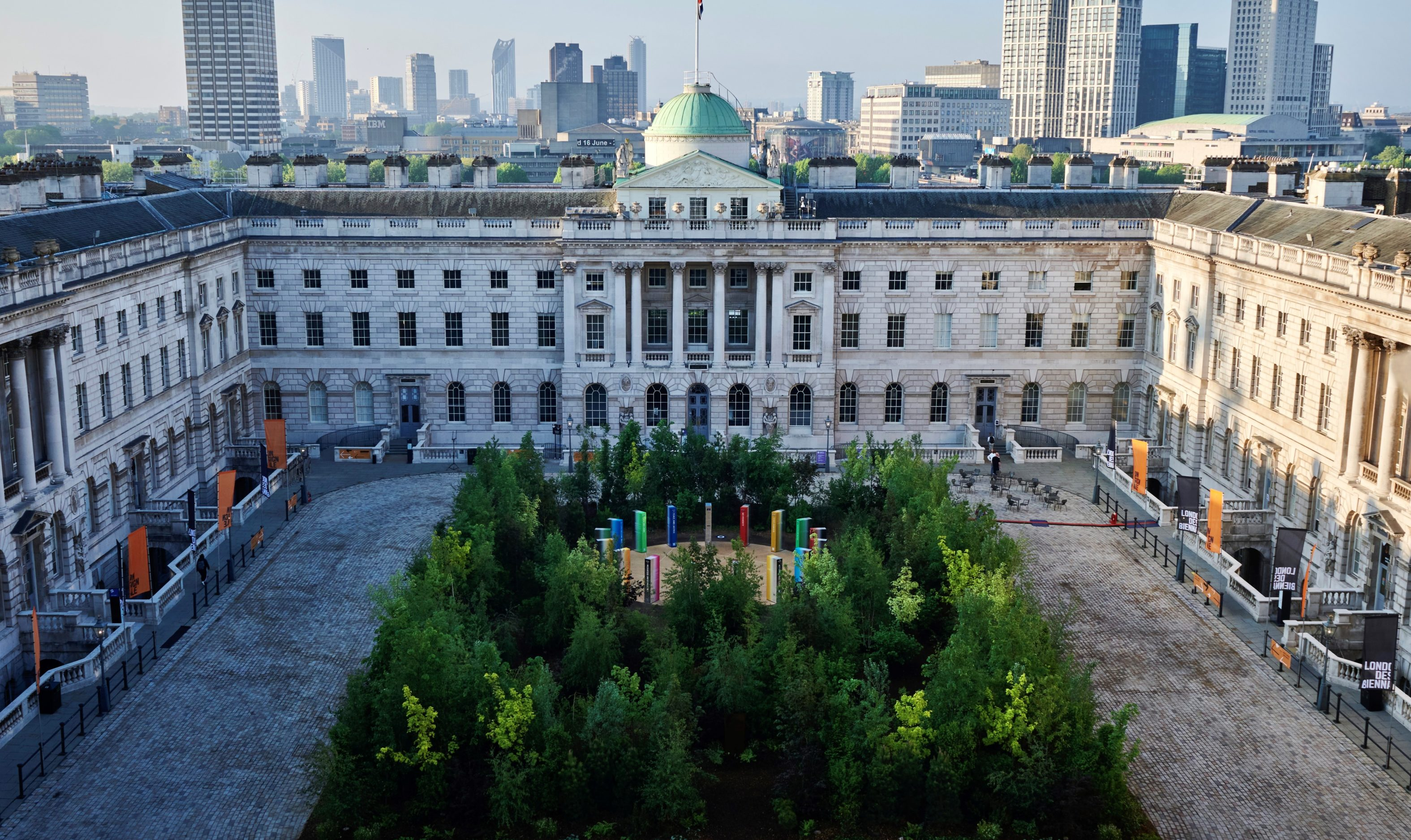 Forest for change at London Design Biennale
