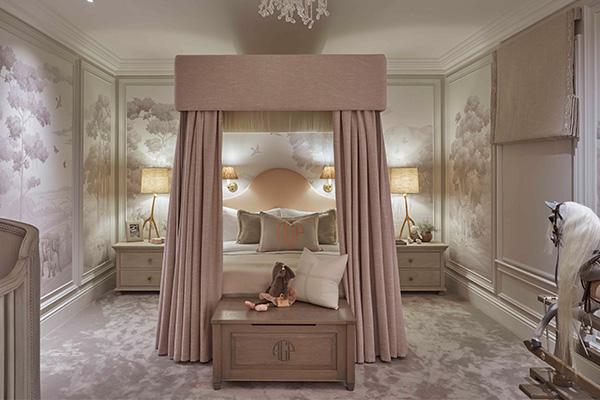 child's bedroom lighting scheme