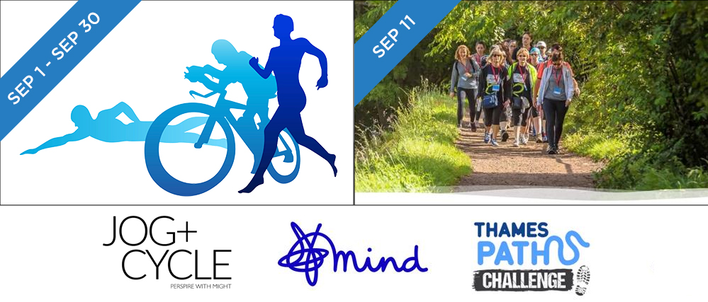 Fundraising for Mind as part of John Cullen's 40 challenges