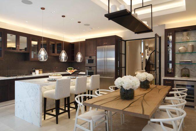 kitchen lighting scheme
