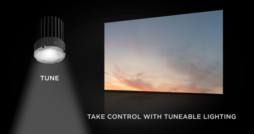 Tune 50 the new engine to tune your lighting to specific needs